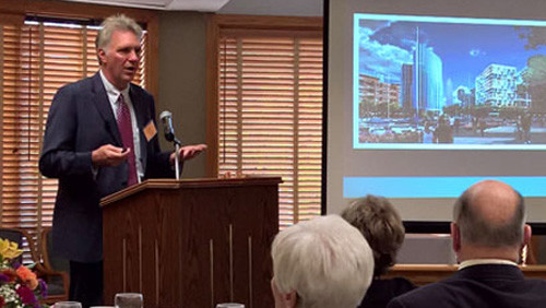 Chris Ronayne, CEO of University Circle, Inc., and chair of the Cleveland-Cuyahoga County Port Authority, spoke at the BAC speaker series in October 2016.